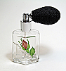 Perfume powder spray bottle