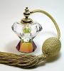 Crystal perfume atomizer bottle