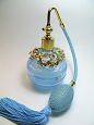 perfume glass atomizer bottle