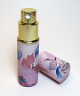 Refillable perfume atomizer bottle