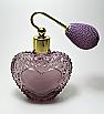 Refillable perfume atomizer bottle