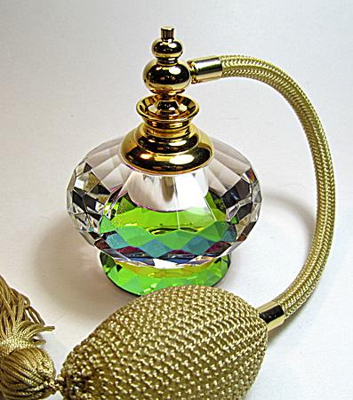 Crystal atomizer perfume bottle