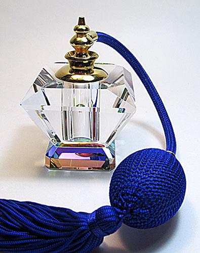 Empty atomizer perfume bottle