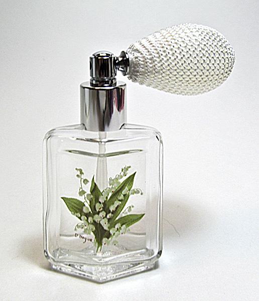 Perfume powder spray bottle