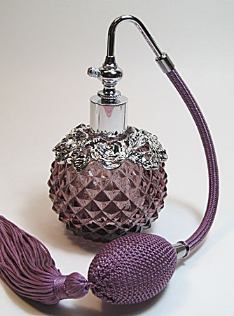 Fancy perfume atomizer bottle