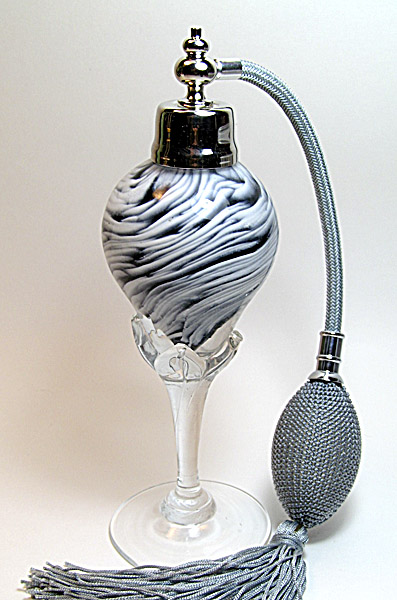 Art glass perfume bottle