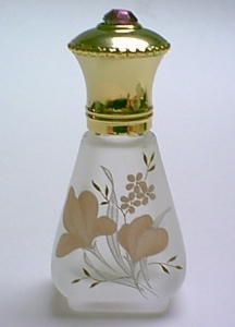 Unique perfume bottle