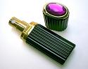 Brilliant perfume atomizer