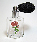 Perfume powder atomizer bottle