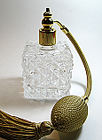 Designed perfume bottle
