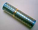 Round perfume atomizer