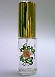 Floral perfume bottle