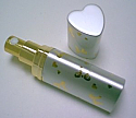 Heart shape perfume atomizer