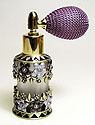 Perfume atomizer bottle antique